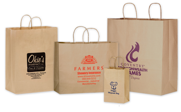 Craft paper bags manufacturer in sharjah dubai uae jute for Brown paper craft bags