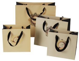 customized kraft bag in uae