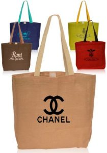 jute and cotton bag printing and suply