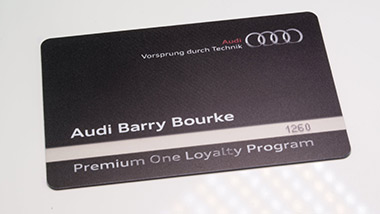 Pvc plastic loyalty cards design and printing membership cards id audi car dealership member business card premium plastic reheart