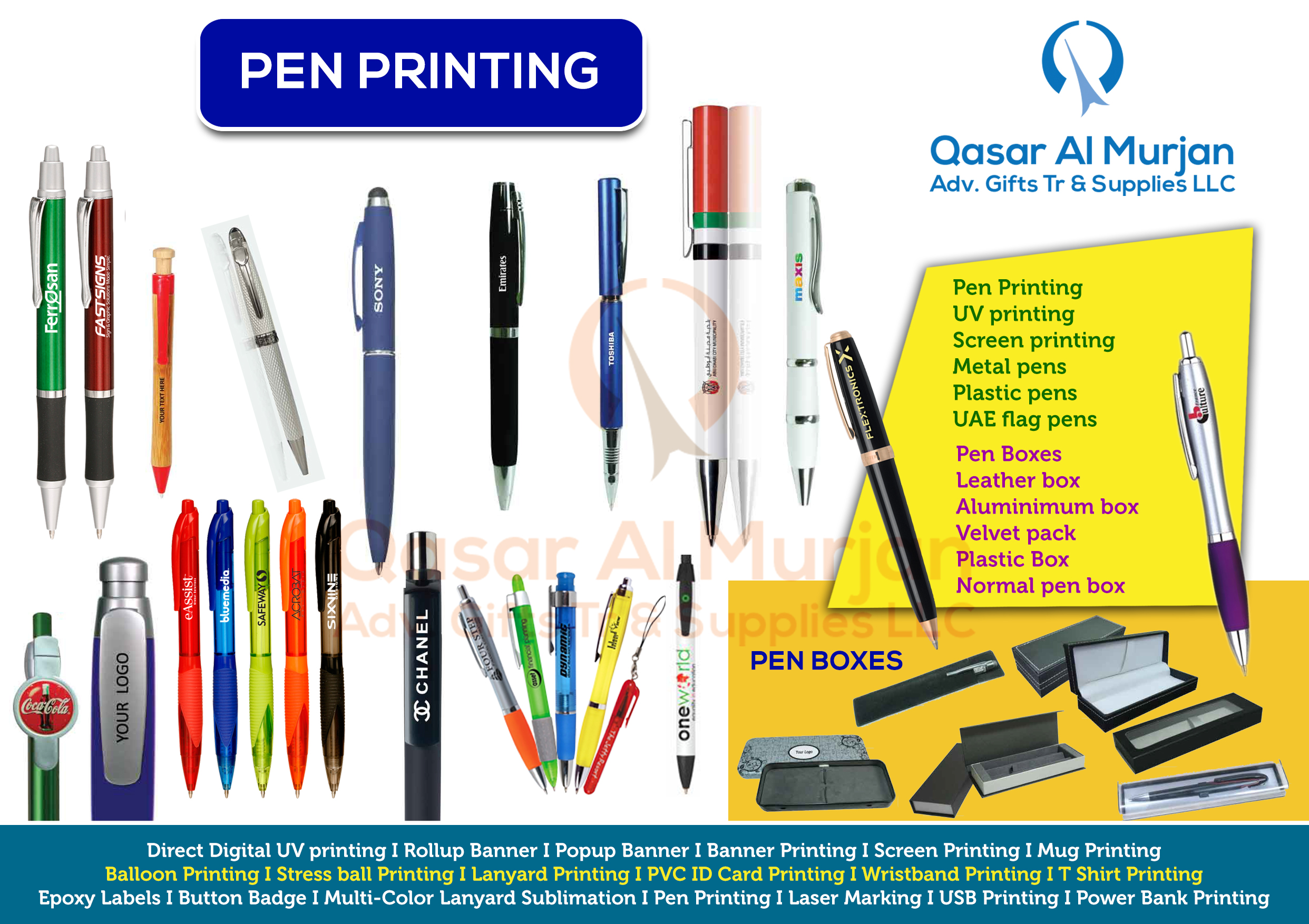 National day gift items in dubai 45th uae national day gift items pen printing stopboris Choice Image